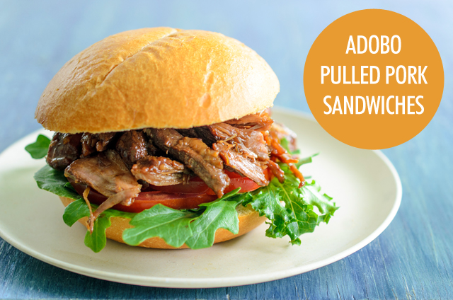 The Spice Box: Adobo Pulled Pork Sandwiches | Food Bloggers of Canada