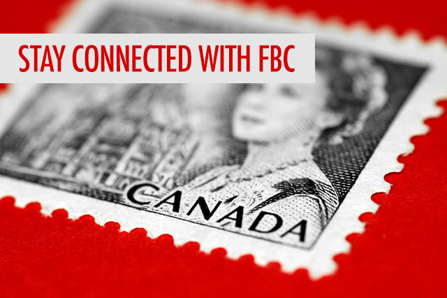 Stay Connected With FBC