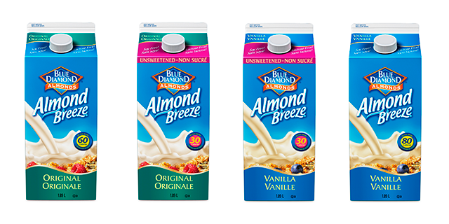 Almond Breeze Family of Products