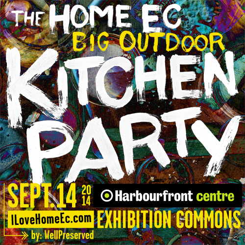 The Home Ec Big Outdoor Kitchen Party