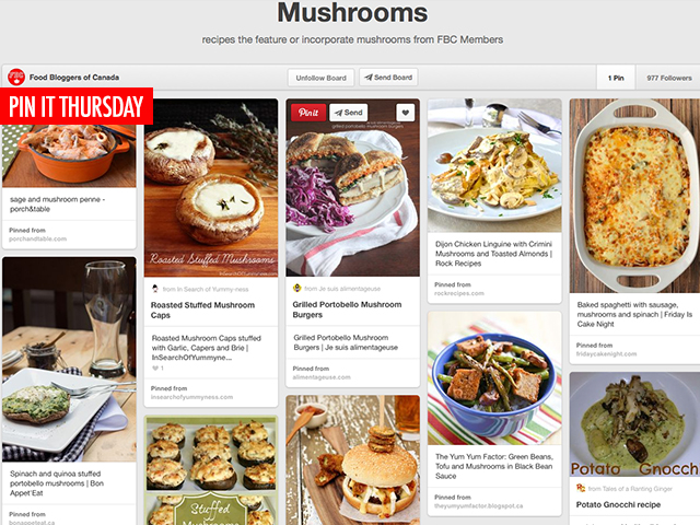 Pin It Thursday: Marvelous Mushroom Recipes | Food Bloggers of Canada