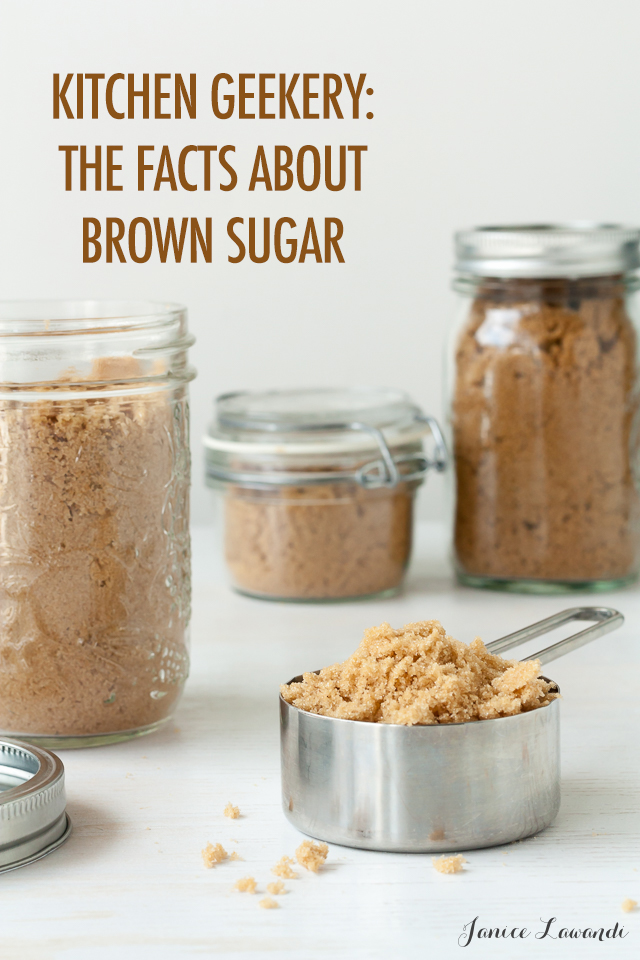 Kitchen Geekery: Surprising Truths About Brown Sugar | Food Bloggers of Canada