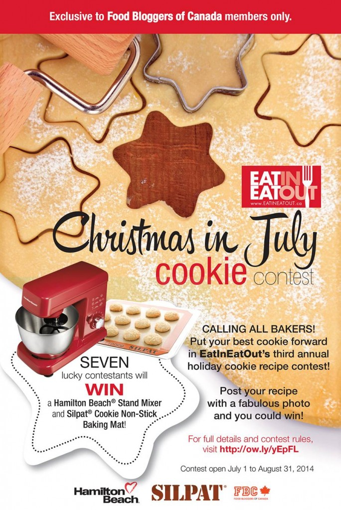 Eat In Eat Out Christmas in July Cookie Contest