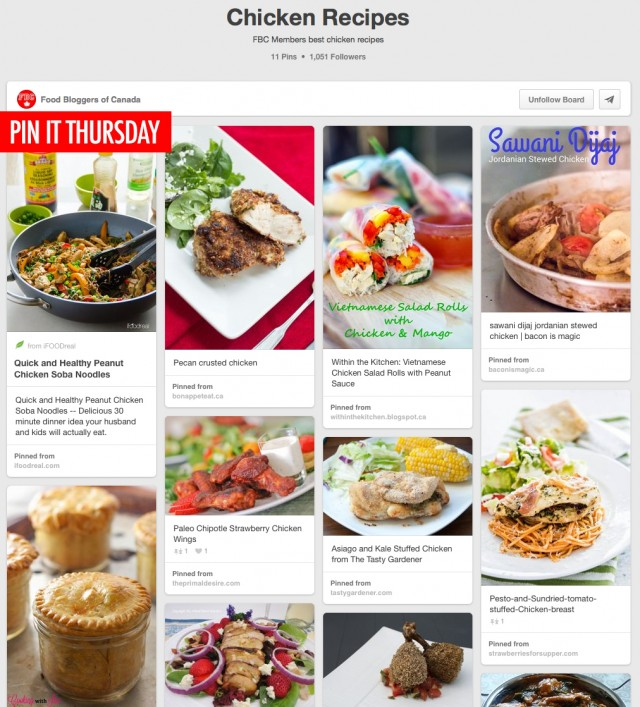 Pin It Thursday Chicken Recipes