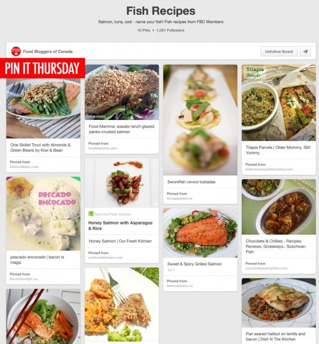 Pin It Thursday: Fish Recipes | Food Bloggers of Canada