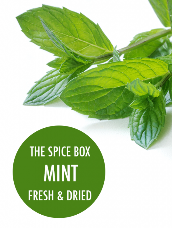 The Spice Box: Fresh & Dried Mint | Food Bloggers of Canada