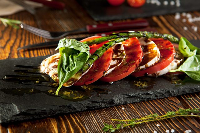 Caprese Salad with Basil