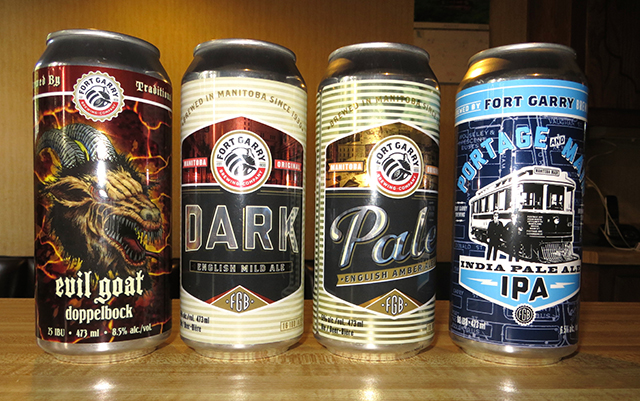 Manitoba Beer: Fort Gary Beer | Food Bloggers of Canada