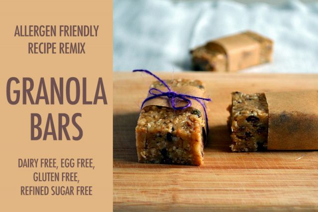 How To Make Allergen Friendly Granola Bars | Food Bloggers of Canada