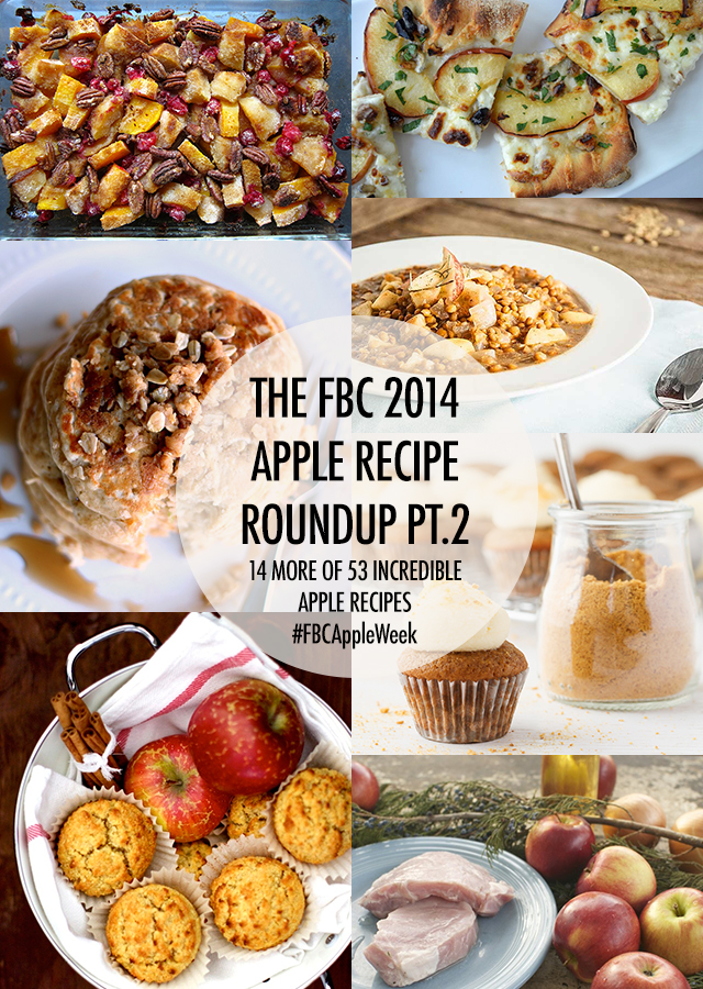 Apple Recipe Roundup Part 2 | Food Bloggers of Canada