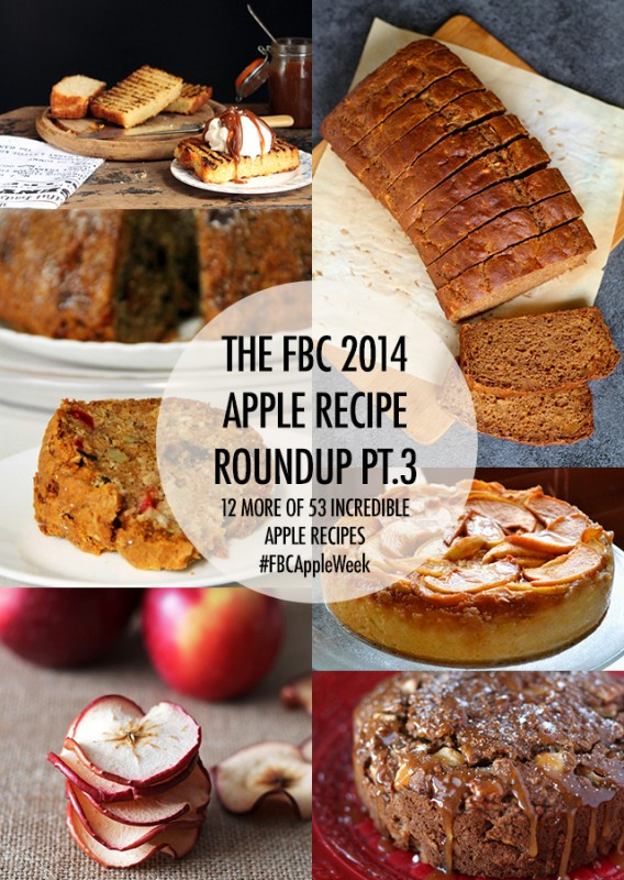 FBC Apple Recipe Roundup Pt 3 | Food Bloggers of Canada