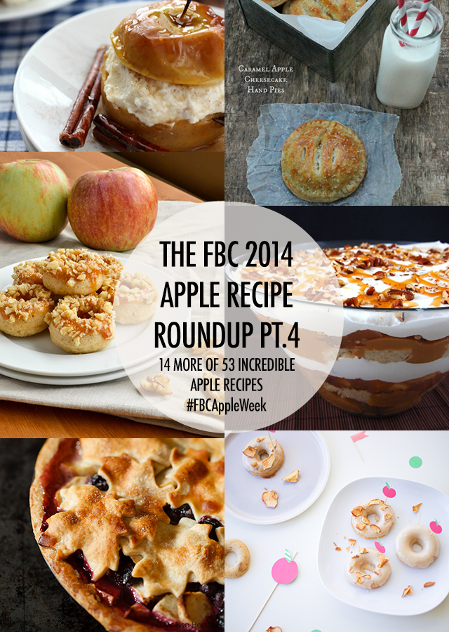 FBC Apple Recipe Roundup Pt 4 | Food Bloggers of Canada
