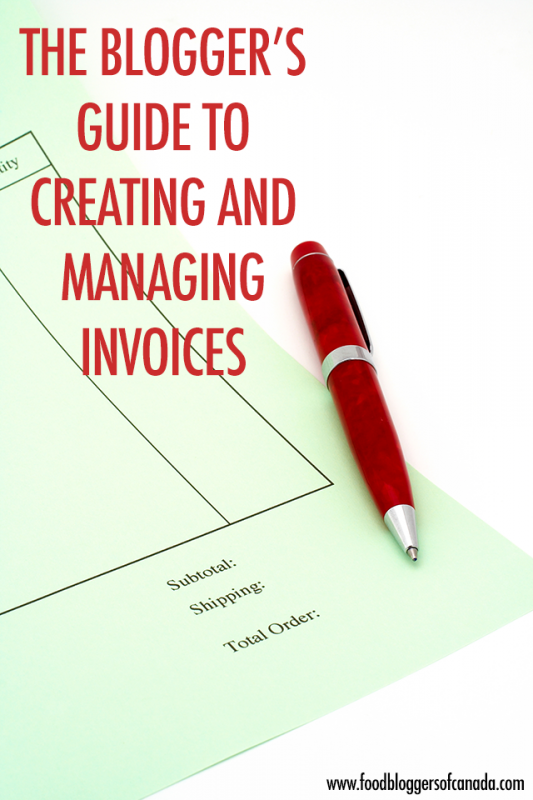 The Blogger's Guide to Creating and Managing Invoices