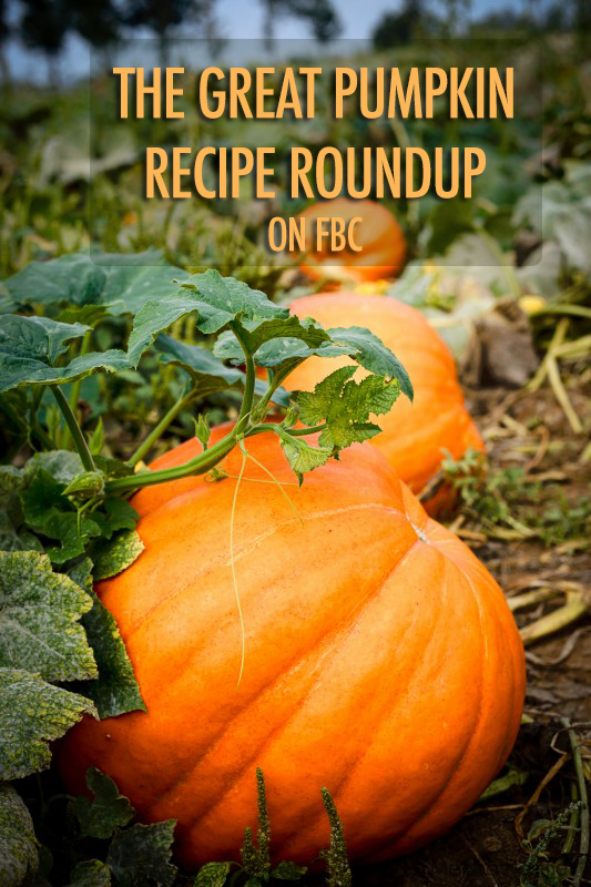 The Great Pumpkin Recipe Roundup | Food Bloggers of Canada