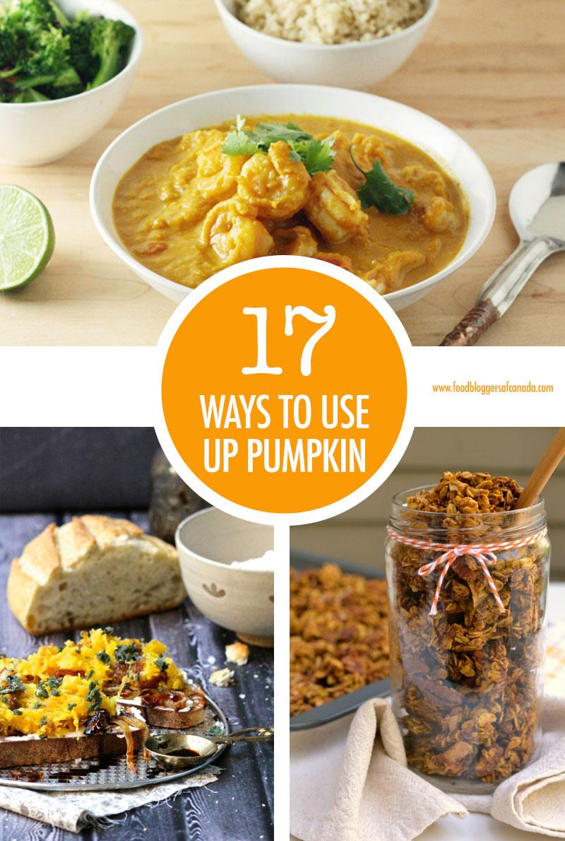 17 Ways To Use Pumpkin   Food Bloggers of Canada