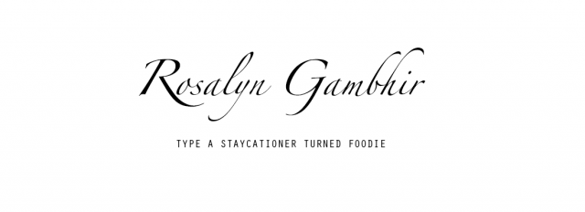 FBC Featured Member: Rosalyn Gambhir | Food Bloggers of Canada