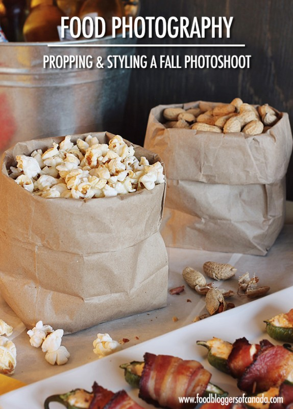 Propping and Styling for a Fall Food Photography Photoshoot | Food Bloggers of Canada
