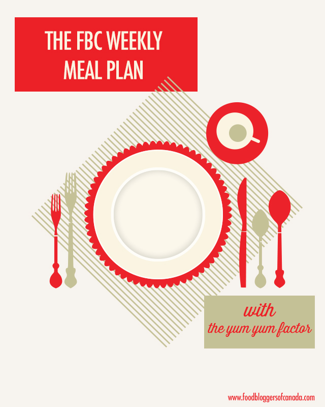 FBC Weekly Menu Plan With The Yum Yum Factor