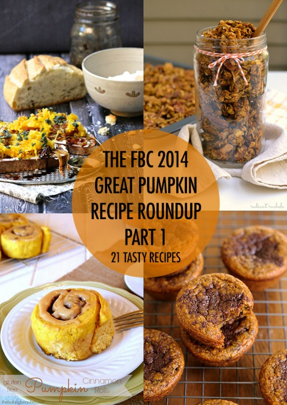 The Great Pumpkin Recipe Roundup Part 1 | Food Bloggers of Canada