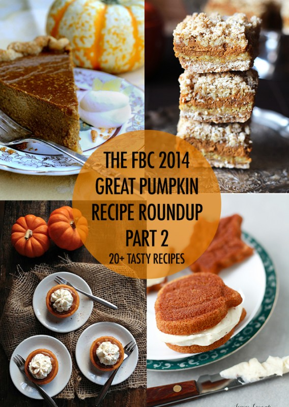 Great Pumpkin Recipe Part 2 | Food Bloggers of Canada
