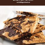 Chocolate Peanut Butter Crunch Bark | Food Bloggers of Canada