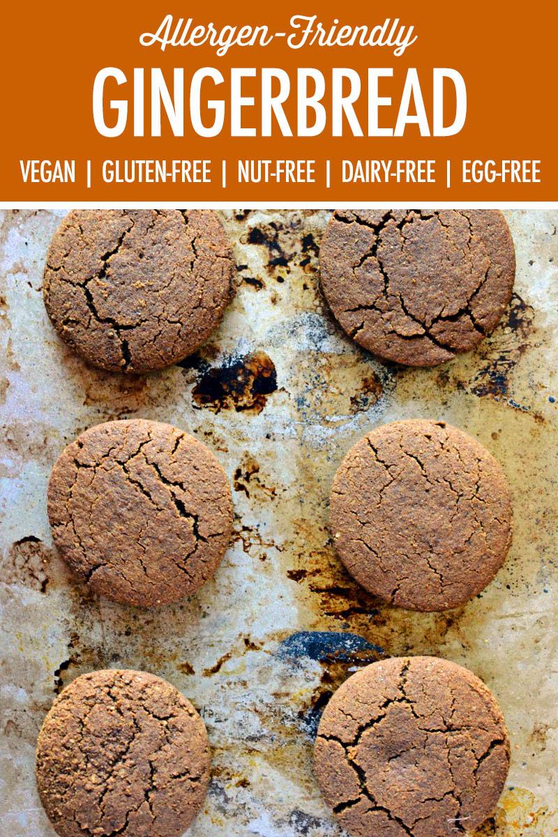 Vegan Gingerbread Cookies | Food Bloggers of Canada