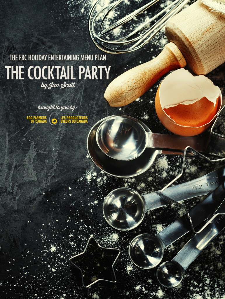 Holiday Entertaining Menu Plan | The Cocktail Party
