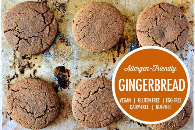 Allergen-Friendly Vegan Gingerbread Cookies