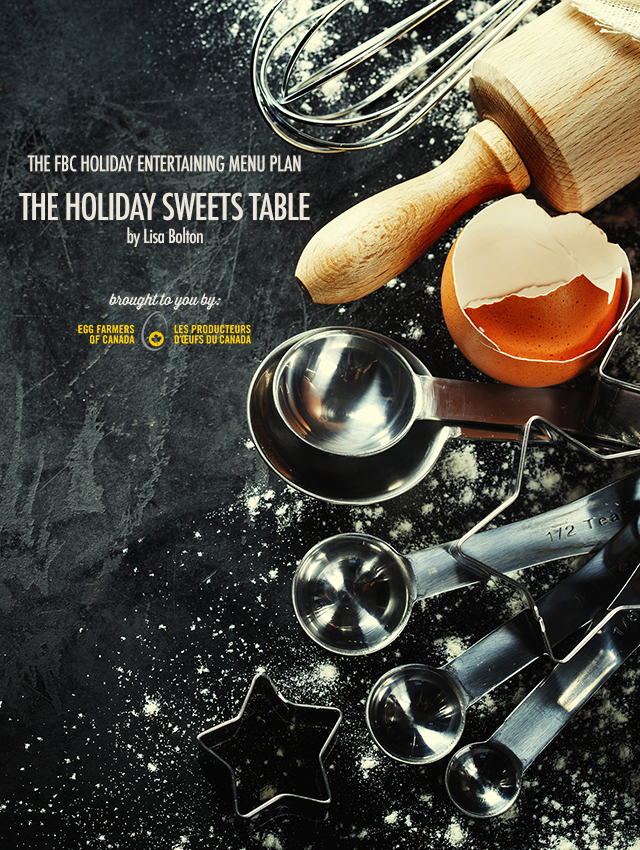 Holiday Entertaining Menu Plan | The Holiday Sweets Table