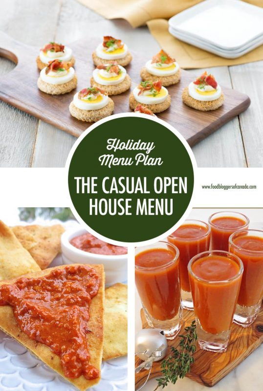 Holiday Entertaining Menu Plan: The Casual Open House | Food Bloggers of Canada
