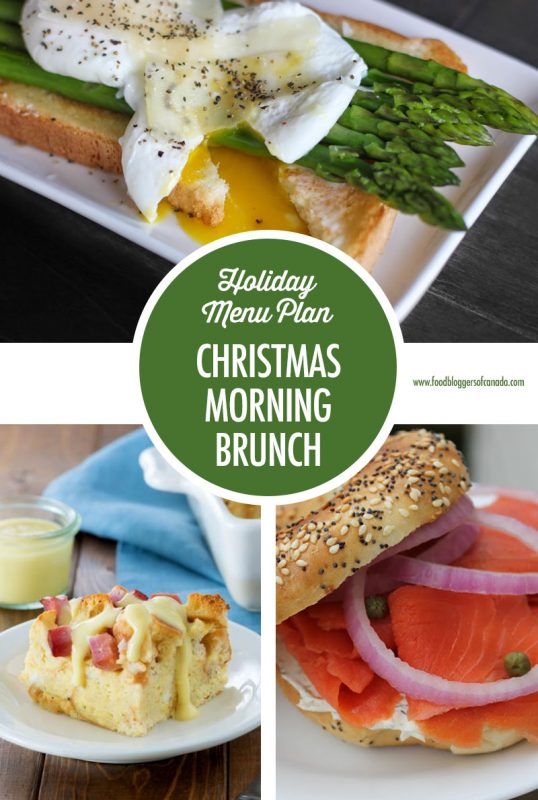 Holiday Entertaining Menu Plan: The Christmas Morning Brunch | Food Bloggers of Canada