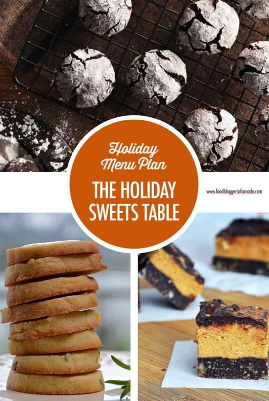Holiday Entertaining Menu Plan: The Holiday Sweets Table