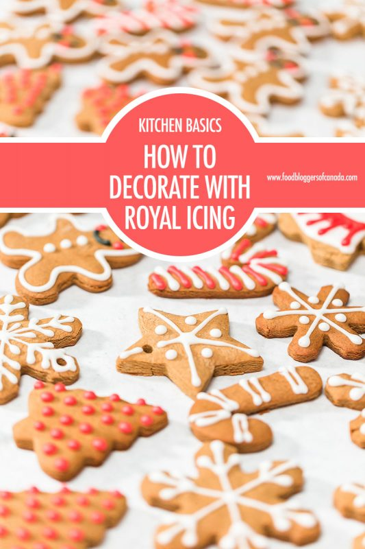 How to Decorate With Royal Icing | Food Bloggers of Canada