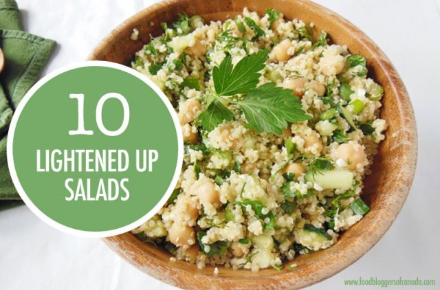 10 Lightened Up Salads | Food Bloggers of Canada