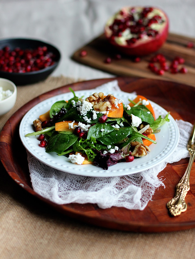 FBC Lighten Up Roundup - 15 Salads that Eat Like a Meal | Food Bloggers of Canada