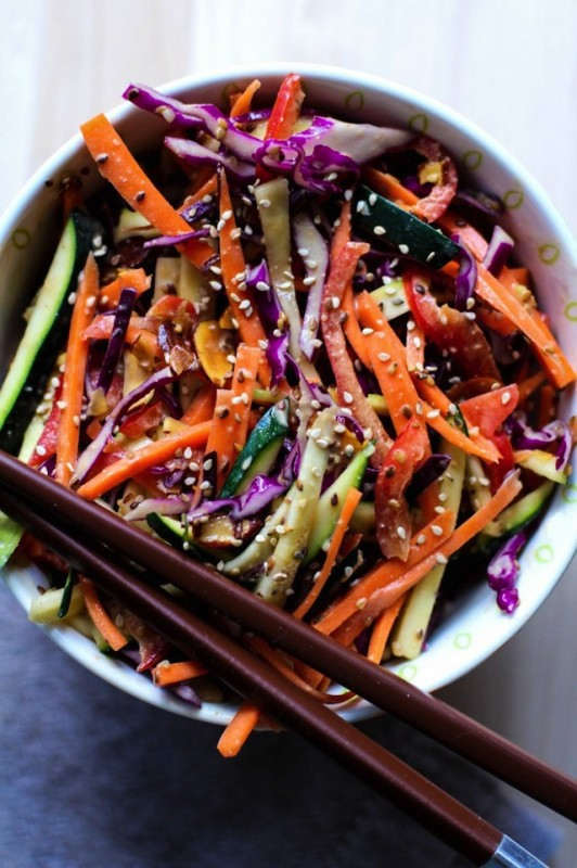 FBC Lighten Up Roundup - 15 Salads that Eat Like a Meal   Food Bloggers of Canada