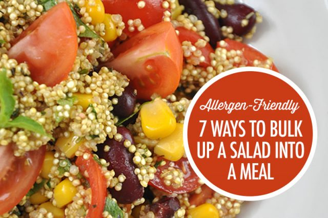 7 Ways To Bulk Up A Salad Into a Meal