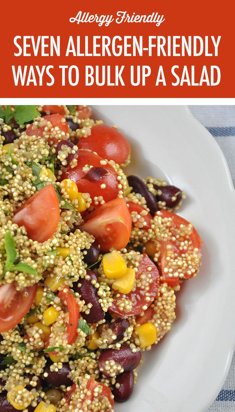 7 Allergen-Friendly Ways To Bulk Up A Salad