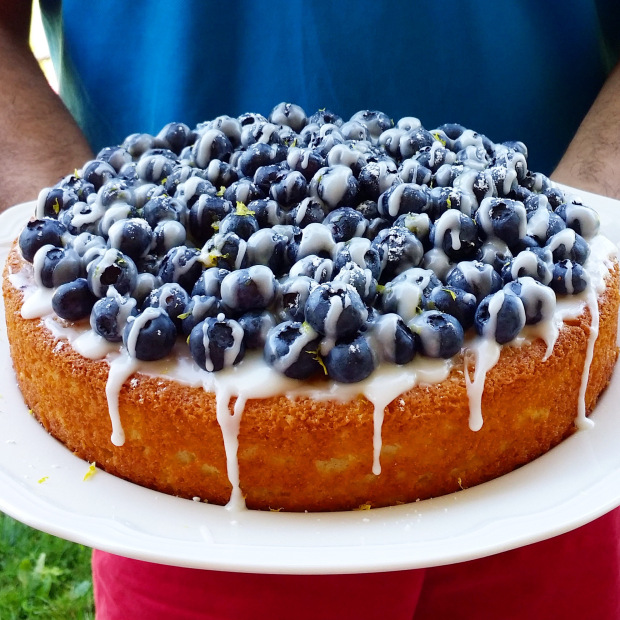 Haute Sucre | Blueberry Lemon Cake