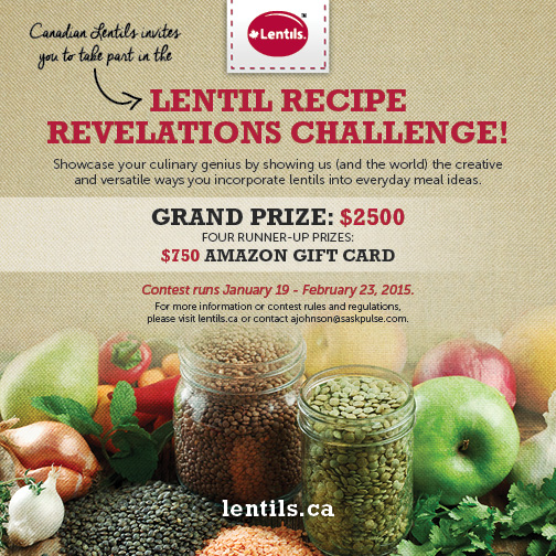 Get Creative with Lentils | Food Bloggers of Canada