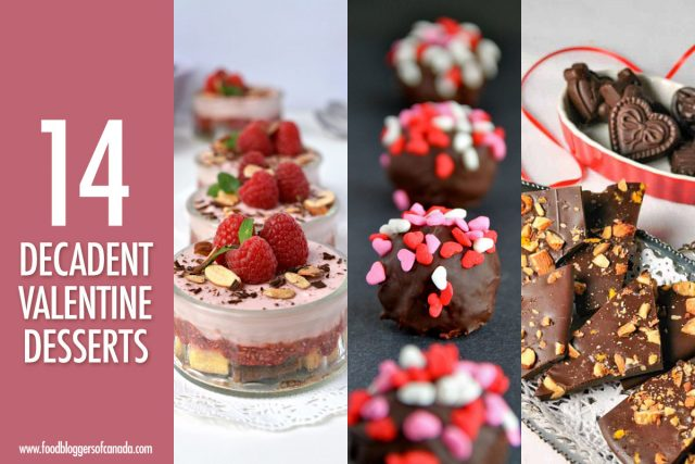 14 Decadent Valentine Desserts | Food Bloggers of Canada