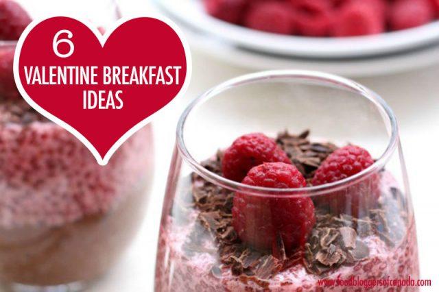 6 Valentine Breakfast Ideas