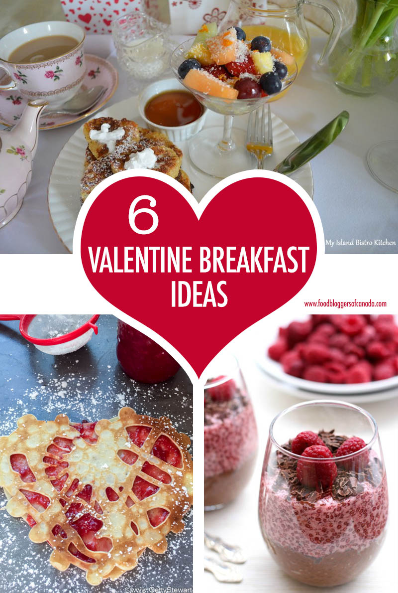 6 Valentine Breakfast Ideas | Food Bloggers of Canada