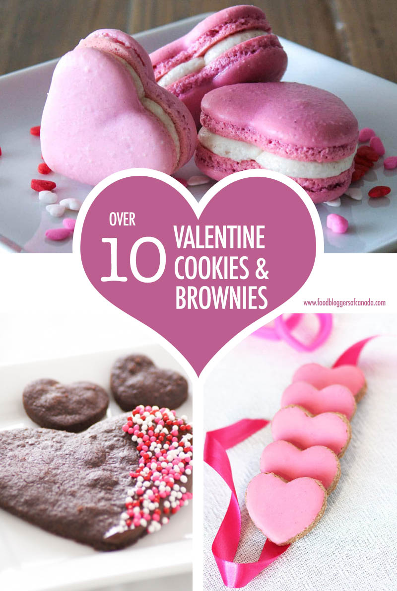 Over 10 Valentine Cookies and Brownies | Food Bloggers of Canada