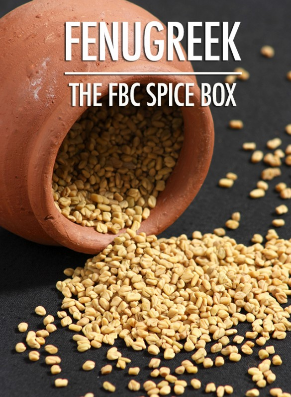 The Spice Box - Getting to Know Fenugreek | Food Bloggers of Canada