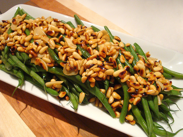 Green Beans with Brown Butter and Pine Nuts | What Food I Made