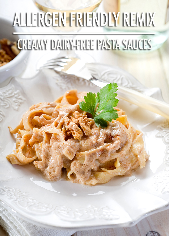 How to Make Creamy, Non-Dairy Pasta Sauces | Food Bloggers of Canada