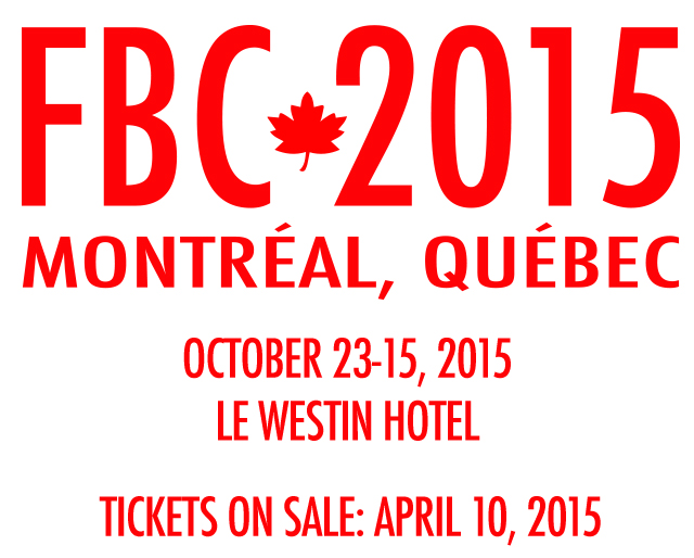 Save The Date - FBC2015 Ticket On Sale Date