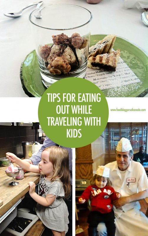 Tips For Eating Out While Traveling with Kids | Food Bloggers of Canada