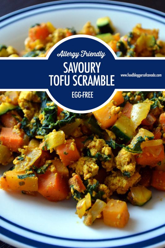 Eggless Breakfast: Savoury Tofu Scramble | Food Bloggers of Canada